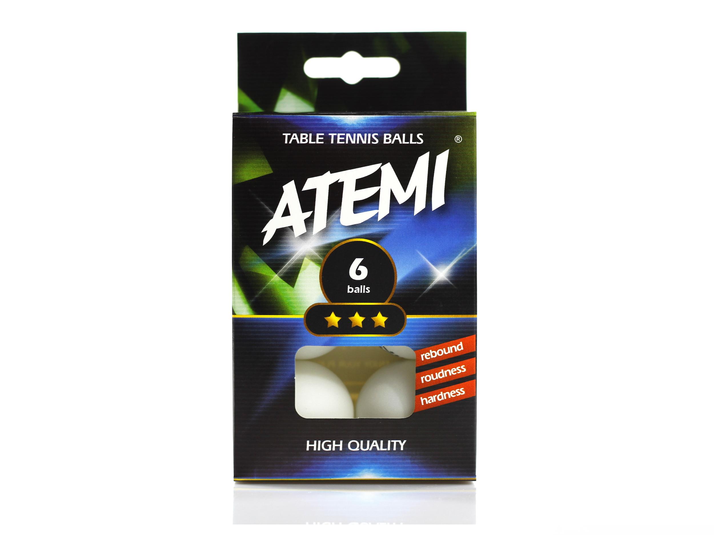 Piłeczki do tenisa stołowego ATEMI 3*